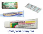 Стрептоцид (Streptocide) — инструкция по применению, побочные эффекты, форма выпуска и цена препарата