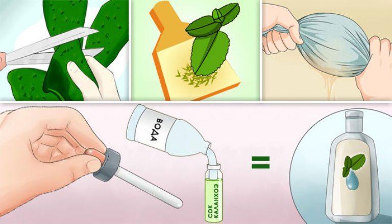 Как приготовить капли в нос в домашних условиях