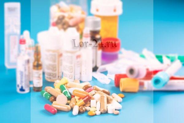Антибактериальное лечение субатрофического фарингита