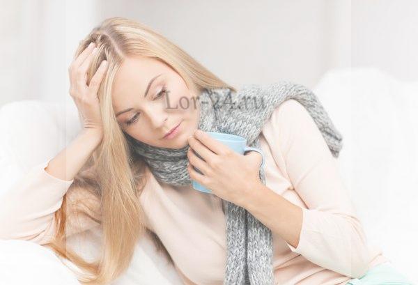 Боль в горле при гипертрофическом фарингите