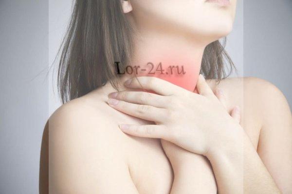 Воспалительный процесс в горле