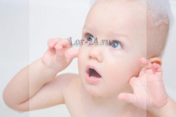 Болят ушки у ребёнка