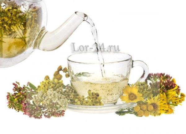 Травяные отвары для лечения фарингита