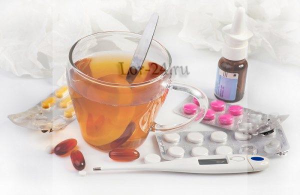 Лечение при гриппе у взрослых лекарства