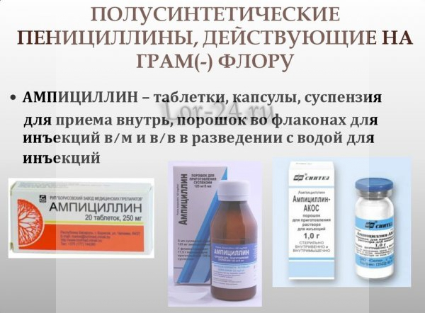 Penitsilliny polusinteticheskiye