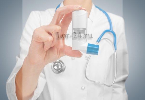 Sprei s antibiotikom pri angine u detey
