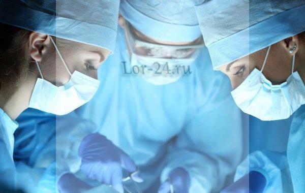 operatsiya pri rake mindalin